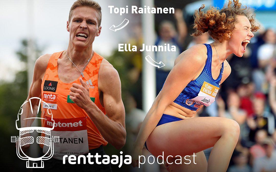 Renttaaja Podcast #3 – Ella Junnila & Topi Raitanen – Team Renta