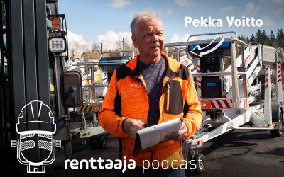 Renttaaja Podcast #5 – Olkiluodosta Angolaan – Pekka Voiton tarina