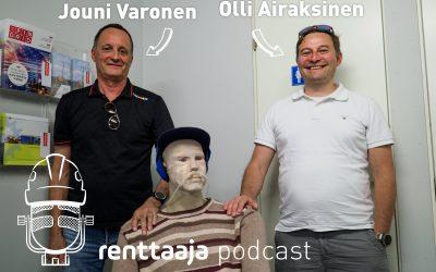 Renttaaja Podcast #7 – Puhetta kvartsipölystä ja pölynhallinnasta