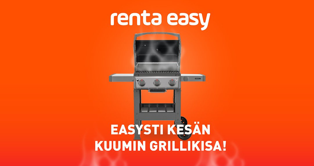 Easysti kesän kuumin grillikisa on alkanut!